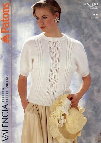 Ravelry Patons 3408 Valencia Brushed Double Knitting Patterns