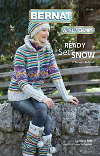 Ravelry: Bernat #530198, Ready Set Snow - patterns