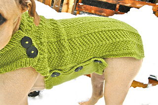 Ravelry Nala Needs A Coat Large Dog Sweater Pattern By Jessica Morsell