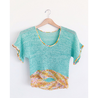 e935a0076279c Ravelry  Swooping Scoop Top pattern by Jessie Mae Martinson (JessieMaed)