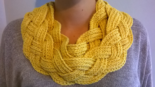 Ravelry Double Layered Braided Cowl Pattern By Crochetdreamz