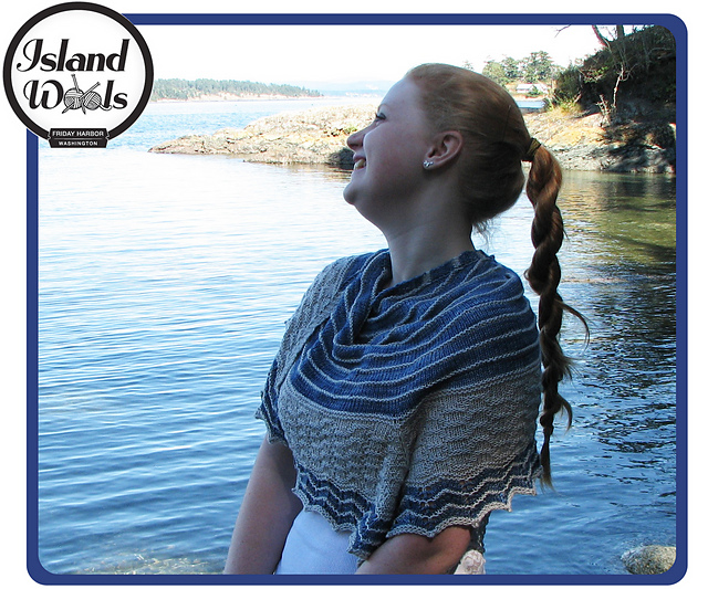 6627c8dcf88 Ravelry  White Capped Waves pattern by Julie Packard