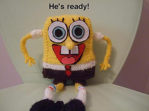 Ravelry Spongebob Squarepants Doll Pattern By Nettas Knits