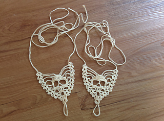 ec4cac0f786de Ravelry: Skull Barefoot Sandals pattern by The Crafty Hooker