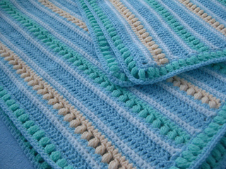 Ravelry Soft Stripes Blanket Pattern By Bernat Design Studio