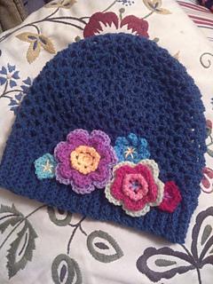 Ravelry  The Perfect V-Stitch Hat pattern by Sarah Lora f55efe1ad4c