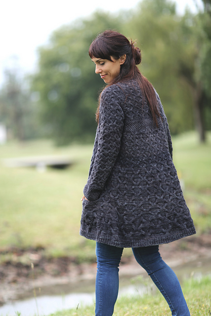 acfb09b7fb5c Ravelry  Ranch Coat pattern by Joji Locatelli