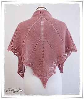 Free Knitting Pattern Lace Wrap : Ravelry: My first Lace Shawl pattern by Jolanda Schneider