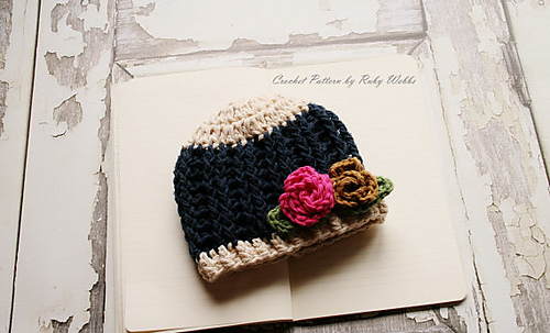 N Hook Crochet Hat Pattern
