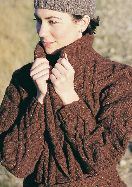 576cc8c33fb29a Ravelry  Cable Wrap pattern by Jo Sharp