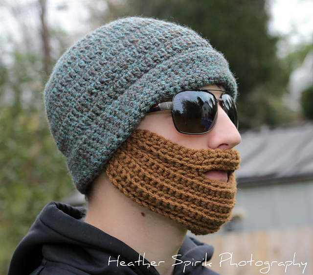 Ravelry Crochet Adult Bearded Hat Pattern By Janet Spirik