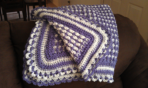 Ravelry Fluffy Stitch Baby Afghan Pattern By Mary Middleton