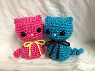 Ravelry Colorful Kitty Cat Toy Pattern By Dds Crochet