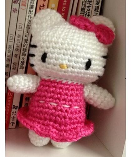 Ravelry Hello Kitty In Pink Dress Pattern By Dds Crochet