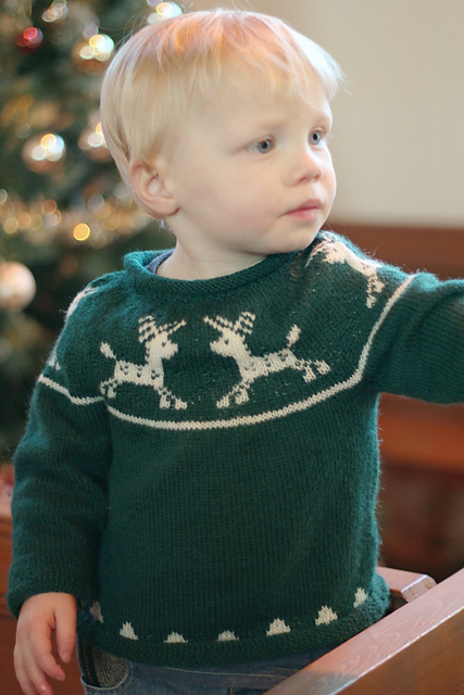 Ravelry Junior Christmas Jumper Pattern By Susan Crawford