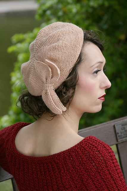 Ravelry Sunday Pictorial Beret Pattern By Susan Crawford