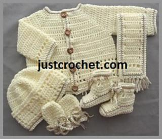 fcff8a0007eb Ravelry  Baby crochet pattern JC126A pattern by Justcrochet Designs