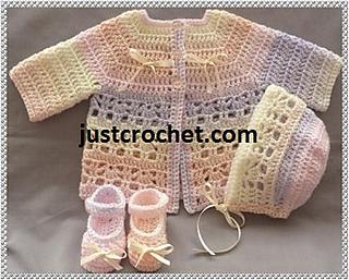 211acdf435ff Ravelry  Baby crochet pattern JC128NB pattern by Justcrochet Designs