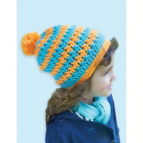 Ravelry Textured Hat Pattern By Caron Design Team