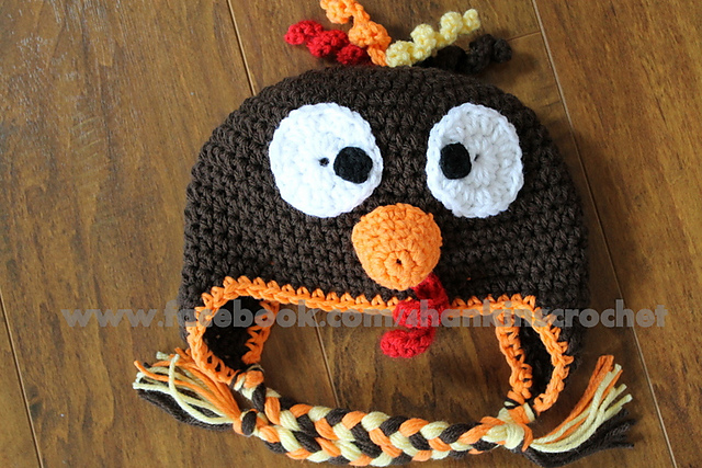 Ravelry Turkey Hat Pattern By Kristin Hankins