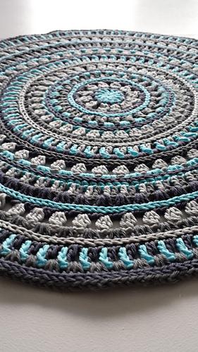Ravelry Mandala Style Placemats Pattern By Kajsa Hubinette