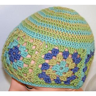 Ravelry  Granny Square Beanie pattern by Jill Bujold 0478271004f