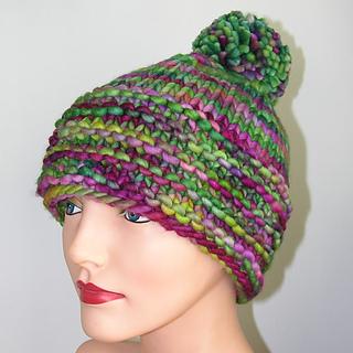 Rasta Hat Knitting Pattern Free : Ravelry: Bulky Rasta Hat pattern by Jill Bujold