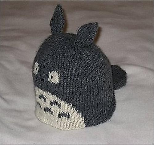 Ravelry Totoro Knit Hat Pattern By Julie Chen