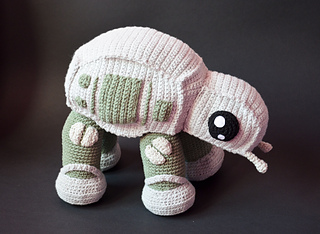 Amigurumi Star Wars Patterns : Ravelry: at at star wars pattern by kamila krawka krawczyk