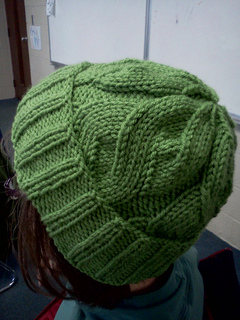 dfd3e63ae67 Ravelry  The Able Cable Hat pattern by Kari Steinetz