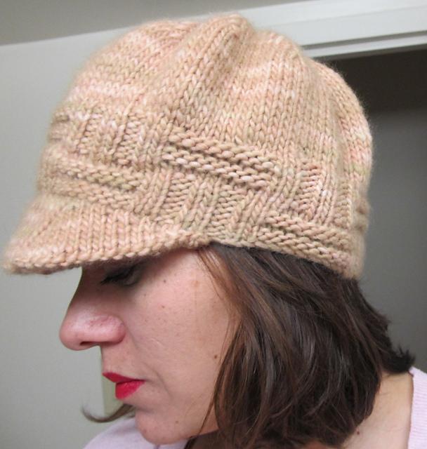 Knit Newsboy Hat Pattern Free Usa