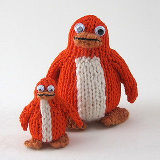 Orange_knitted_rainbow_penguin_large_and_small_medium_small2