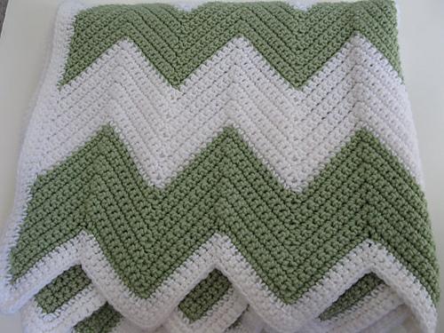 Ravelry Chevron Single Crochet Blanket Pattern By Kathie Sew Happy