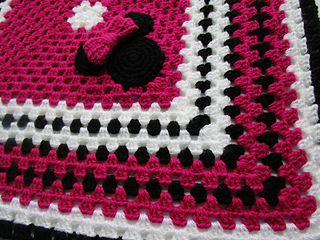 Ravelry Mickey Mouse And Minnie Mouse Crochet Blanket Pattern By