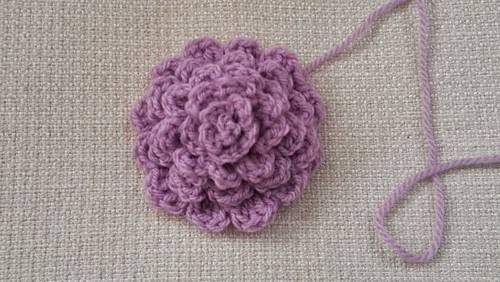 Ravelry Large Dahlia Crocheted Flower Pattern By Kath Williamson