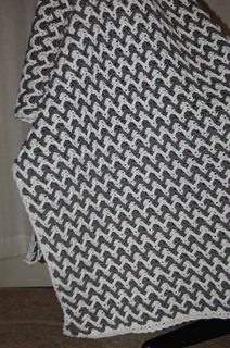 Ravelry Zigzag Post Stitch Throw Pattern By Zelda Workman