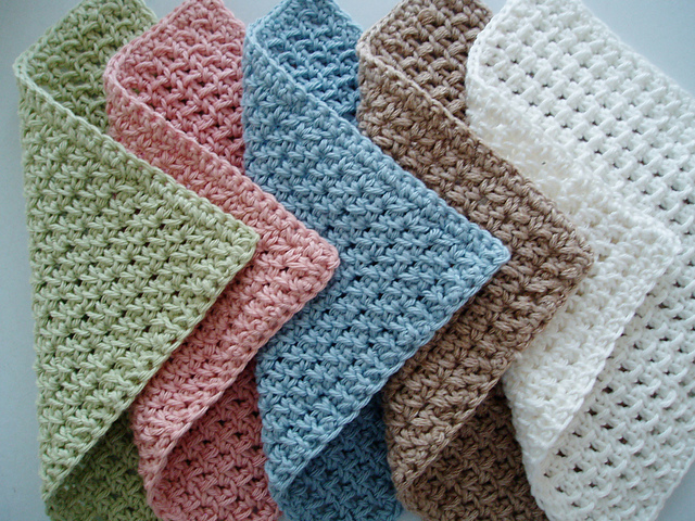 Ravelry Waffle Crochet Spa Washcloth Pattern By Kate Alvis