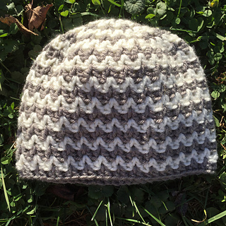 3be0c490bc9 Ravelry  Quick and Simple Chevron Hat pattern by Kayla Pins