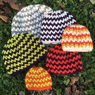 Ravelry  Quick and Simple Chevron Hat pattern by Kayla Pins 3e923eae695