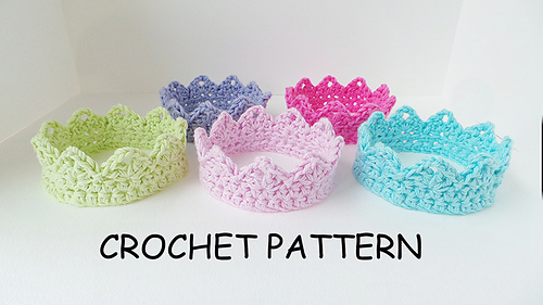 Ravelry Crown Pattern By Kerry Jayne Designs