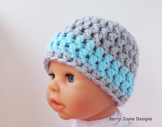 Ravelry Baby Crochet Hat Pattern By Kerry Jayne Designs