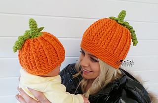 705eee563c8 Ravelry  Playful Pumpkin Hat pattern by Kerry Jayne Designs