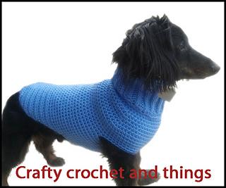 Ravelry Crochet Dachshund Sweater Crochet Dog Sweater Pattern By