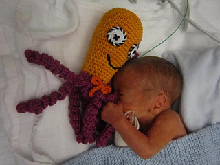 Ravelry Octopus For A Preemie Pattern By Gosia