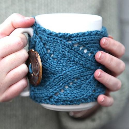 Ravelry Fancy Mug Cozy Pattern By Kirsten Hipsky