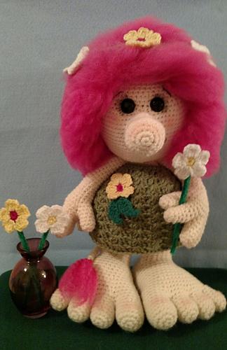 Ravelry Troll Amigurumi Pattern By Mary Smith Magnificent Trolls Crochet Pattern