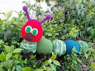 Amigurumi Caterpillar : Ravelry: caterpillar amigurumi pattern by mary smith