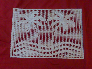 Ravelry Palm Tree Filet Pattern By Smart Crochet Website