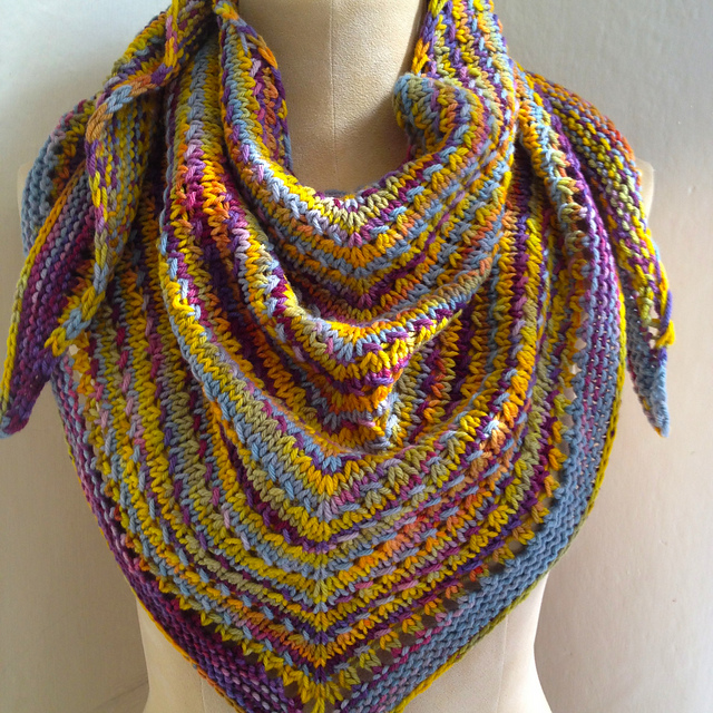 Ravelry: Great Divide Shawl pattern by Michele Zatarian