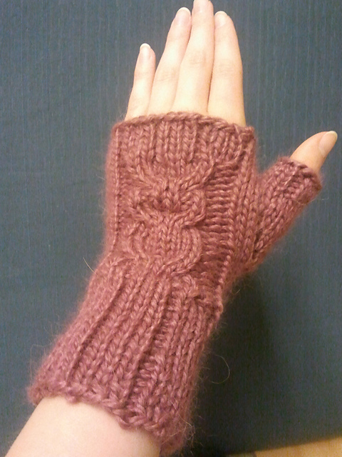 Ravelry: Who\'s owl mitts pattern by Mareike Neumann